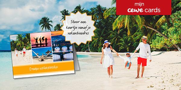 Stuur een kaartje vanaf je vakantieadres